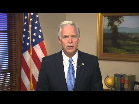 11/16/13 - Sen. Ron Johnson (R-WI) Delivers Weekly GOP Address ...