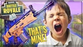 ANGRY KID BEGS TO STOP!!!! SQUADS w/Dayumdo FORTNITE! (*Fortnite Trolling*)