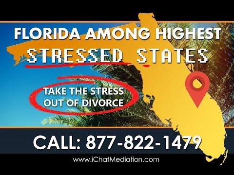 Florida Has 3rd Highest Divorce Rate as Divorcing Couples Now Seek Mediators