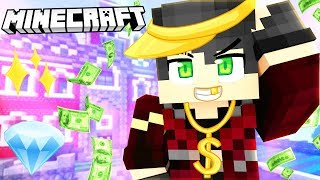 VISITING THE RICHEST MINECRAFT MANSIONS!
