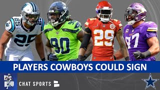 Cowboys Free Agent Targets After The NFL Draft Ft. Jadeveon Clowney, Eric Berry & Clay Matthews