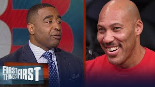 Cris Carter on LaVar Ball pulling LiAngelo Ball out of UCLA | FIRST THINGS FIRST