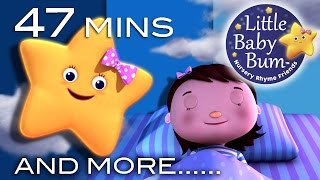 Night Time Songs | Plus Lots More Nursery Rhymes | 47 Minutes Compilation from LittleBabyBum!
