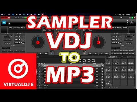 Lo Que No Sabias de VIRTUAL DJ 8 SAMPER VDJ A MP3