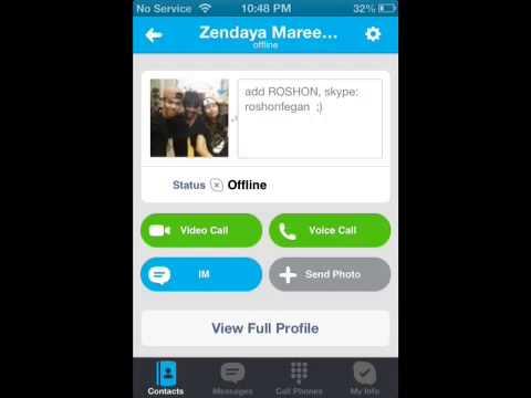 Zendaya Real Phone Number Bella Thorne's Skype U...