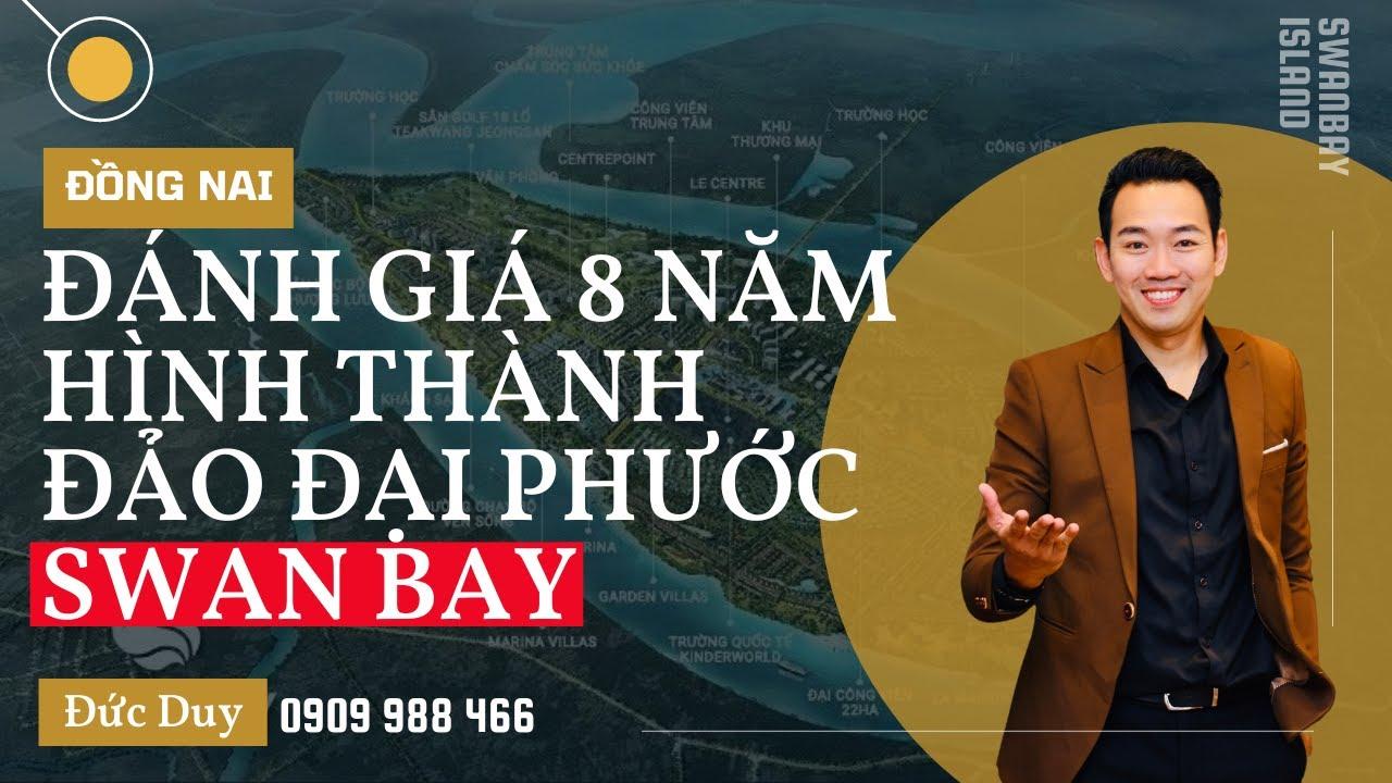 Căn hộ Swan Bay Đảo Đại Phước rẻ nhất 2 phòng ngủ 65m2, tầng 9 view golf, phòng khách nhìn ra hồ video