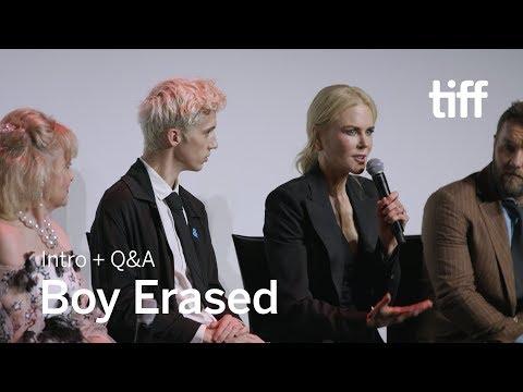 BOY ERASED Cast and Crew Q&A | TIFF 2018