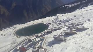BEAUTIFUL VIEW OF HIMALAYA FROM CABLE CAR | AULI ROPEWAY | JOSHIMATH