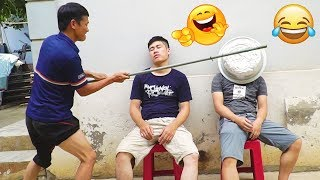 TRY NOT TO LAUGH CHALLENGE with Funny Beggars 😂 Comedy Videos 2019   Sml Troll - Ep.14