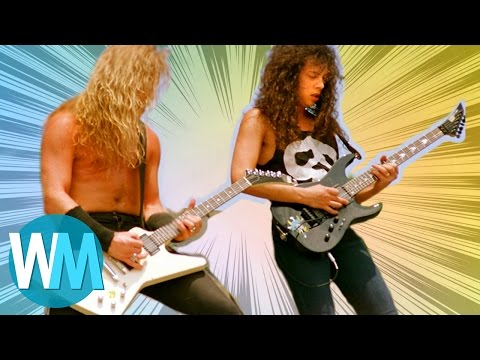 Top 10 Hardest Rock Songs to Play On The Guitar