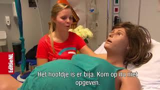 Bevallingsrobot Victoria helpt verloskundestudenten- EDITIE NL