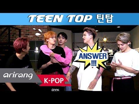 [Pops in Seoul] The Veteran Idols ! TEEN TOP(틴탑) Interview for 'Run Away(런 어웨이)'