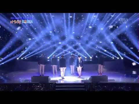 131231 EXO-K  WOLF (늑대와 미녀) + GROWL (으르렁) @Arirang Korea