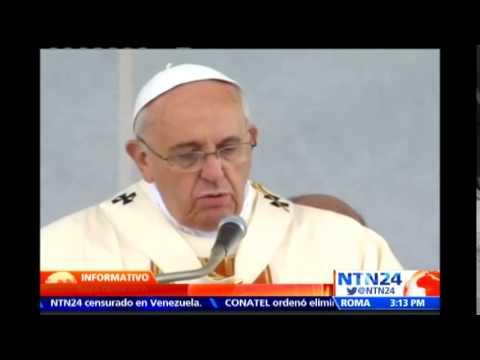 Papa Francisco advierte sobre una tercera Guerra Mundial combatida