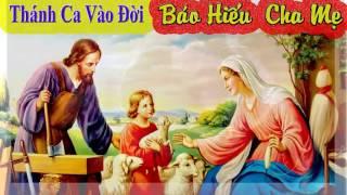 Thánh Ca Vào Đời -  Báo Hiếu Cha Mẹ - Minh Họa Hình ảnh Gia Đình Thánh Gia Cực Đẹp