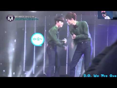 131226 EXO D O  & Chanyeol fight so cute