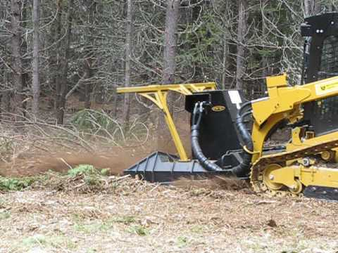 CAT 299D2 XHP with mulcher