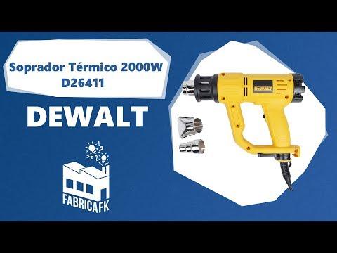 Soprador Térmico 2000W D26411-Br 127V Dewalt - Vídeo explicativo