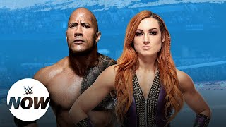AJ Lee Gives Props To Zelina Vega, The Rock And Becky Lynch Tease Dream Match, WWE Shop Sale