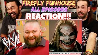 WWE | Firefly Fun House (Episodes 1-9) - REACTION!!!
