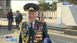 В Омске торжественно открылся обновлённый бульвар Победы