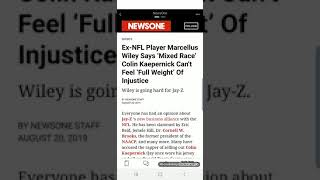 Does Marcellus Wiley Have A Point About Kaepernick?