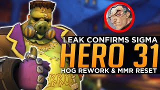 Overwatch: Hero 31 Sigma CONFIRMED! - Roadhog Rework & MMR Reset