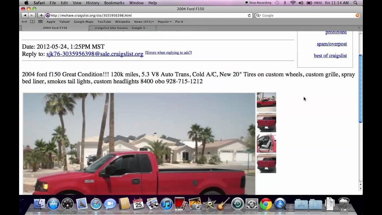 Craigslist Lake Havasu Cars By Owner