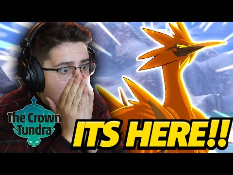 LIVE UNTIL THE CROWN TUNDRA IS HERE! | Pokemon Sword and Shield Expansion Pass LIVE! (Crown Tundra)