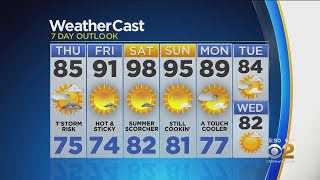 New York Weather: CBS2 7/17 Evening Forecast at 5PM