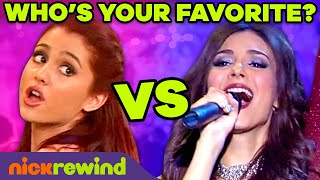 Cat vs. Tori Singing Competition 🎵 Best Songs from Victorious | NickRewind