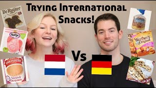 Trying International Snacks   German & Dutch