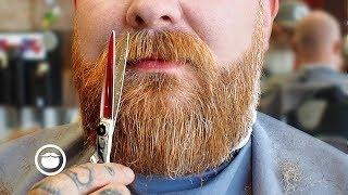 Working Magic on a First Time Beard