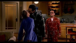 The Bing Bang Theory - Kaley Cuoco as Penny all hot kissing scenes