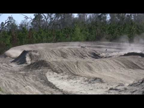 Dirt Bike and ATVs jumping at the Motoplex