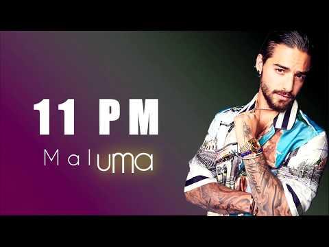 Maluma - 11 PM [Letra - Lyrics]
