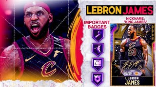 *POINT GUARD* G.O.A.T. GALAXY OPAL LEBRON JAMES GAMEPLAY! HE DOES EVERYTHING! NBA 2k20 MyTEAM
