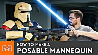How to Make a Posable Mannequin