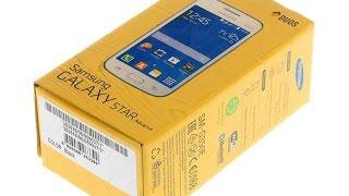 Samsung Galaxy Star Advance SM-G350E обзор
