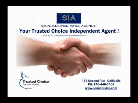 Saunders Insurance is the Trusted Choice