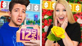 $50 Date vs $5,000 Date Night with Preston!