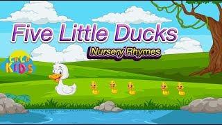 Five Little Ducks Nursery Rhymes by LaLa Kids