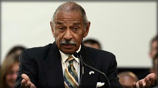 JOHN CONYERS JUST MADE AN ANNOUNCEMENT ABOUT HIS OFFICE, BUT NOT THE ONE WE'VE BEEN WAITING TO HEAR