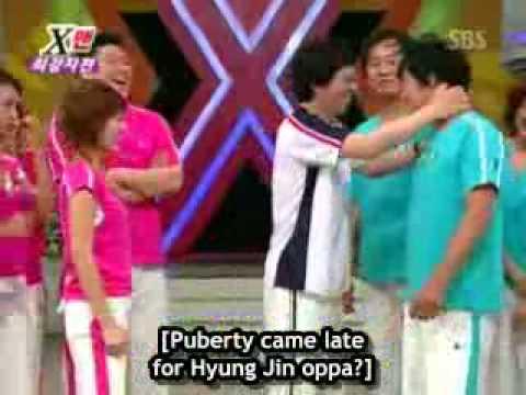 Xman Dangyunhaji   Lee Ji Hyun vs Gong Hyung Jin