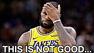 The Lakers Are In SERIOUS Trouble