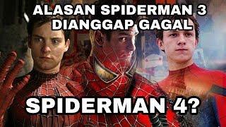 ALASAN SPIDERMAN 3 KARYA SONY TIDAK DILANJUTKAN, DAN ULASAN KELANJUTAN PENGGARAPAN FILM SPIDERMAN