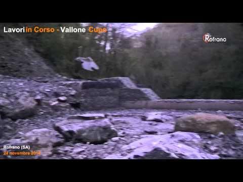 Lavori in corso - Vallone Cupo 23/11/2014