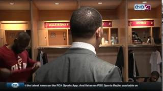 Inside Cleveland Cavaliers locker room after Game 2 win over Pistons