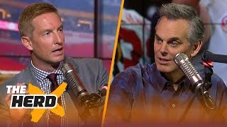 Joel Klatt and Colin Cowherd on Alabama's title win and the need for an 8-team playoff | THE HERD