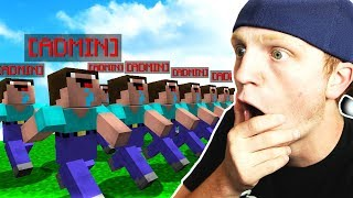 GIVING EVERYONE OP ON MY SERVER! *gone WRONG*